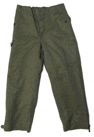 East German Strichtarn Rain Camo Field Pants- Used