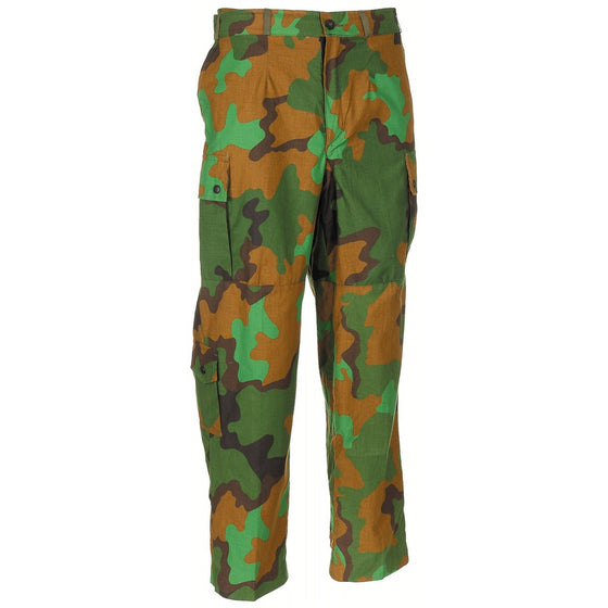 "Dutch Army ""Jungle"" Camouflage Field Trousers-Used"