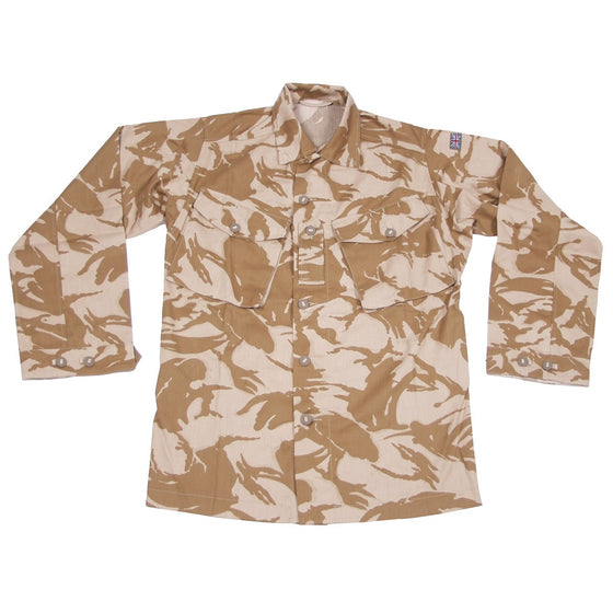 British Desert DPM Camouflage Field Shirt- Used