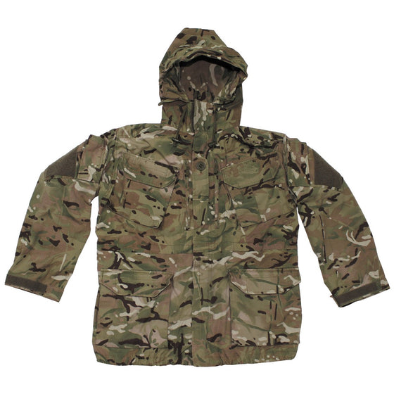 British MTP Camouflage Wind-Resistant Smock- Used