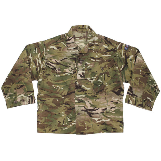 British MTP Camouflage Field Shirt- Used