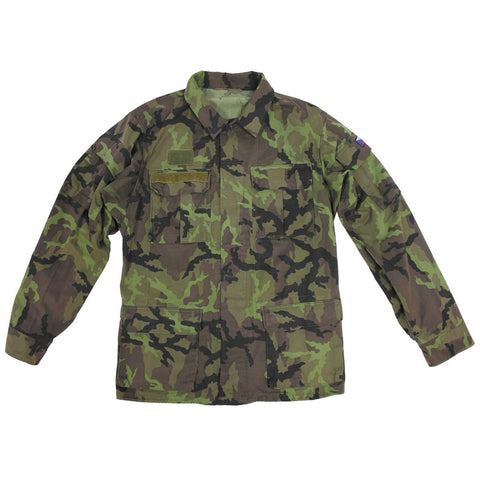 Czech M95 Camouflage Blouse- Used