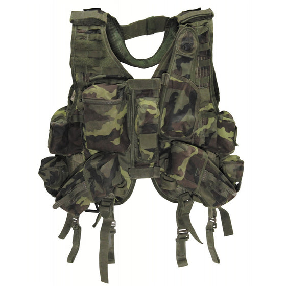 Czech MNS-2000 Vest M1995 Camouflage-Used