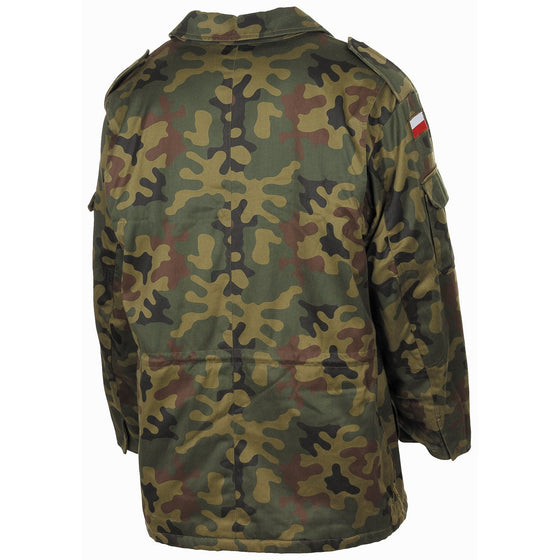 "Polish Wz.93 ""Pantera"" Woodland Camouflage Field Jacket- Used"