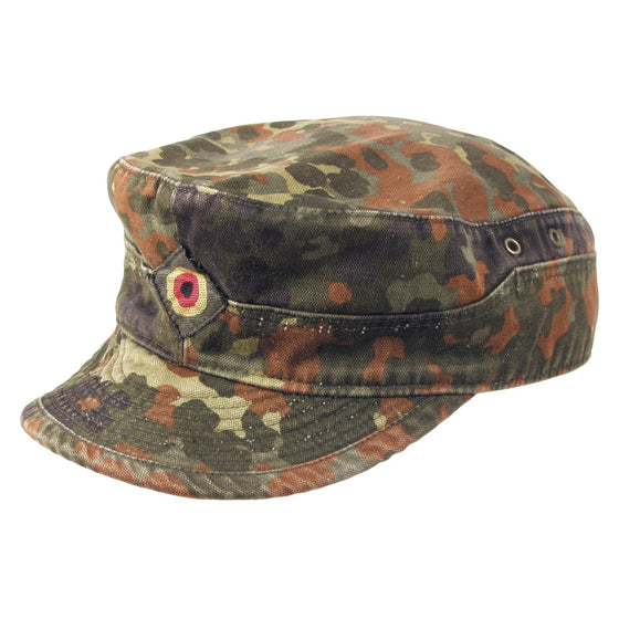 German Bundeswehr Flecktarn Field Cap- Used