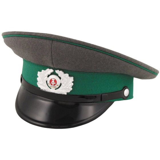 East German Grenztruppen Border Guard Visor Cap- Like New