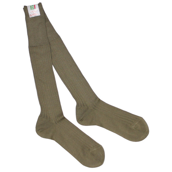 Italian Army Socks ,Coyote- Unissued, 2 Pair Pack.