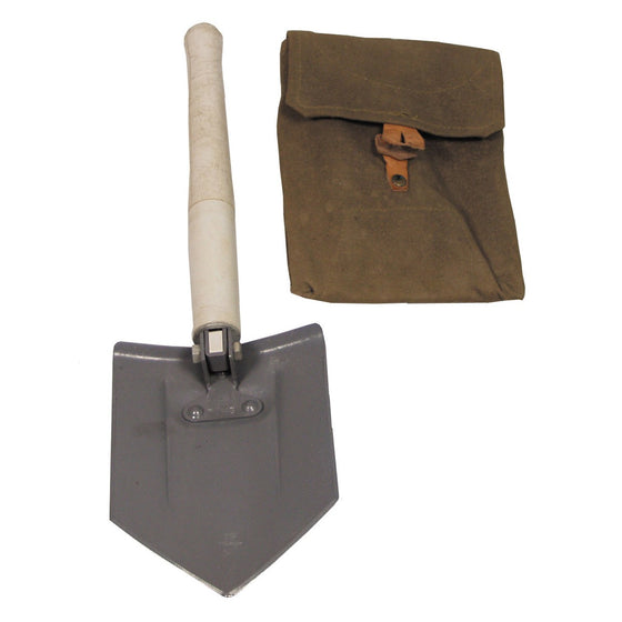Hungarian Entrenching Tool with Carry Pouch- Used