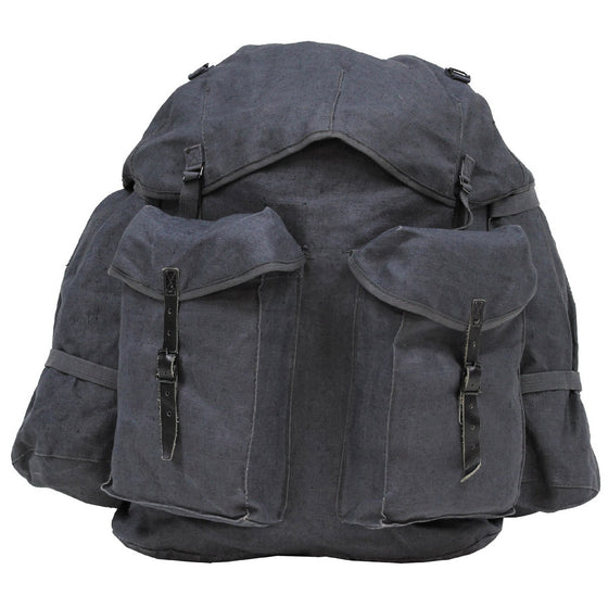 Italian Gray Mountain Rucksack. Canvas-Used