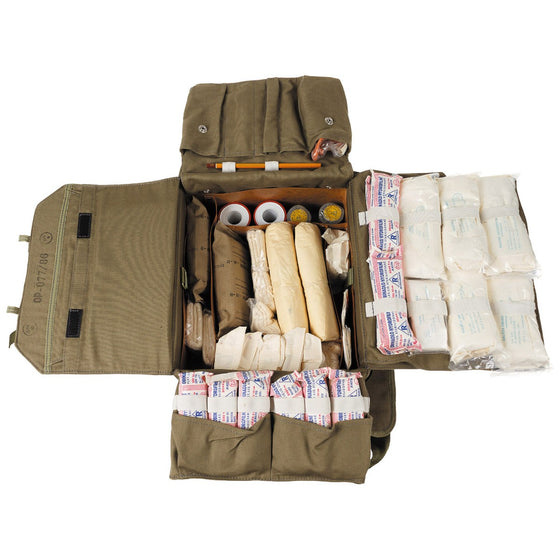 Czechoslovakian Vz.80 Field Medical Kit- Used