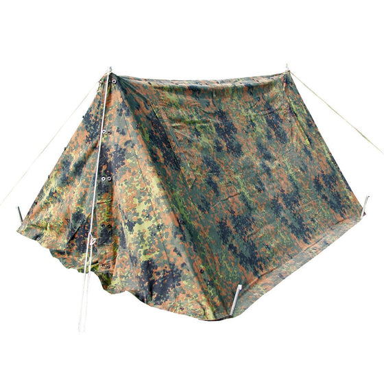 German Bundeswehr Pup Tent with Frame