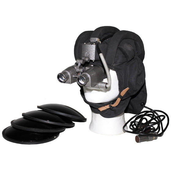 CZECH PNV-57 Night Vision Goggle set with infrared filters and transport box.