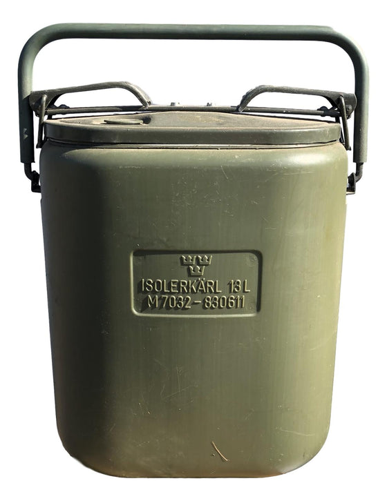 Swedish 13L Eessentraeger. Food Carrier/Thermos
