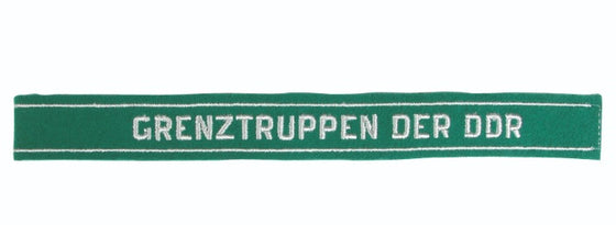 East German Grenztruppen (Border Guard) Cuff Title- Unissued