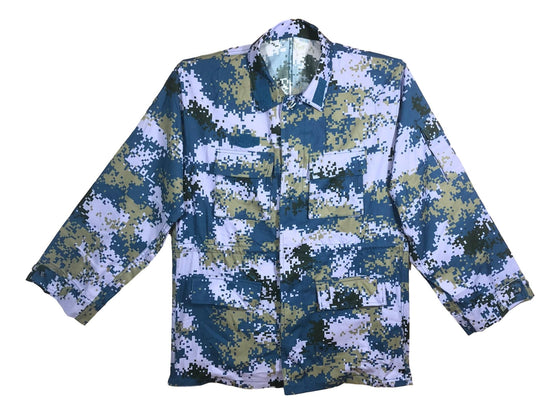 Chinese Type 07 Navy Digital Camouflage Blouse - Unissued
