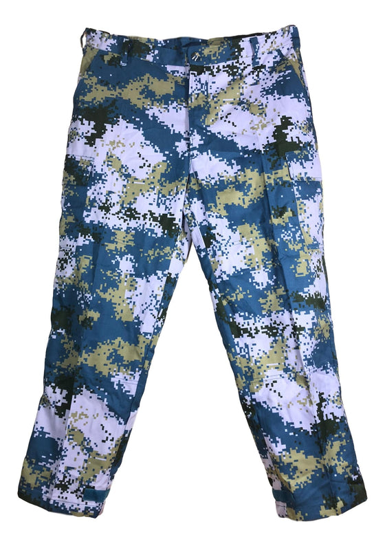 Chinese Type 07 Navy Digital Camouflage Field Pants - Unissued