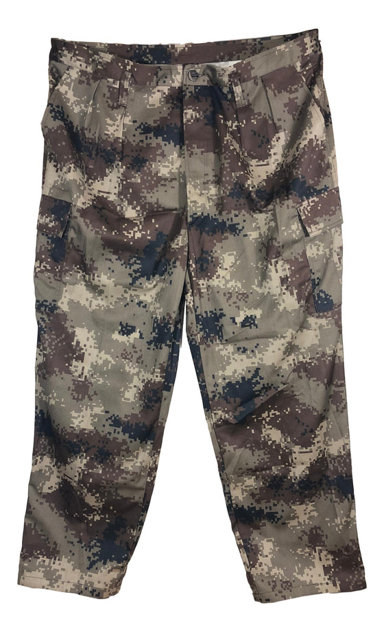 Chinese Type 07 Arid/Desert Digital Camouflage Winter Weight Field Pants- Unissued