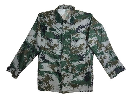 Chinese Type 07 Woodland Digital Camouflage Field Blouse- Unissued