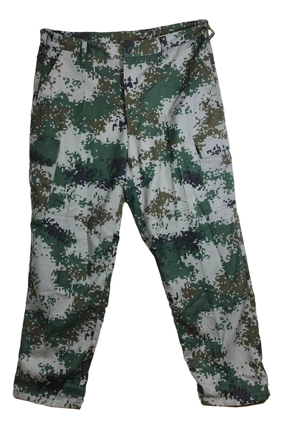 Chinese Type 07 Woodland Digital Camouflage Field Pants- Unissued