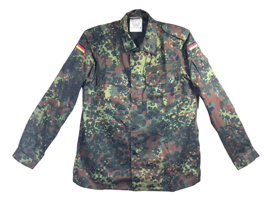 German UN-ISSUED Flecktarn Camouflage Field Shirt