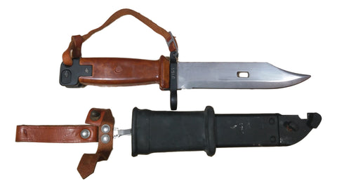 Polish Type II AKM Bayonet and Scabbard