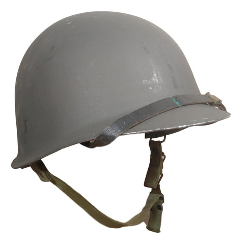Austrian M58 Steel Helmet With Liner- Used