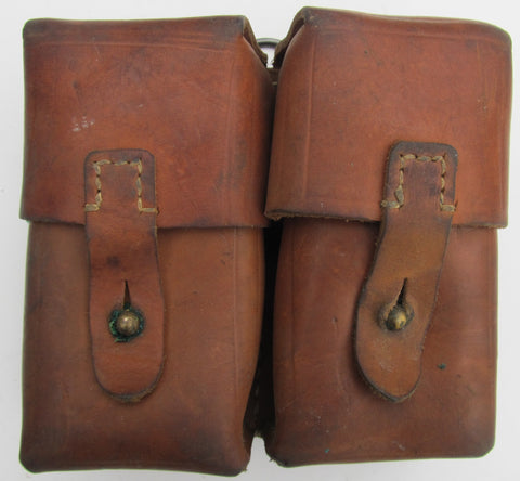 Yugo SKS Leather 2 Cell Pouch