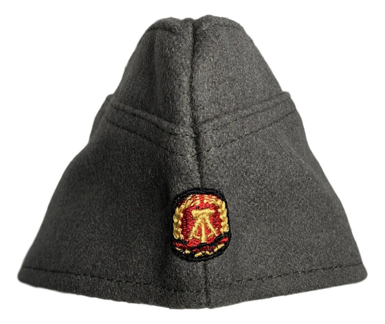 East German Wool Enlisted Ranks Overseas Cap- Excellent Condition