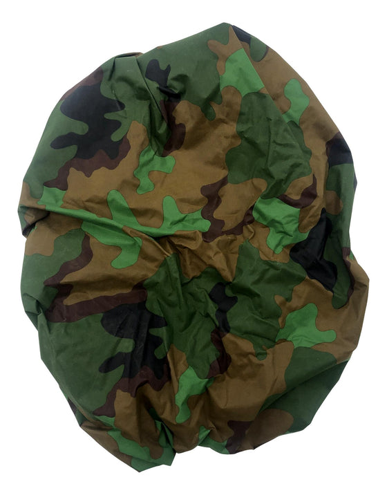 Dutch Jungle Camouflage Pattern Nylon Assault Pack Cover- Used