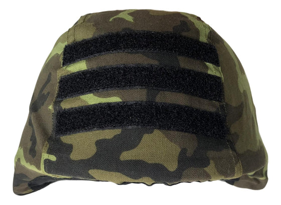 Czech M1995 Woodland Camouflage Helmet Cover- Unissued
