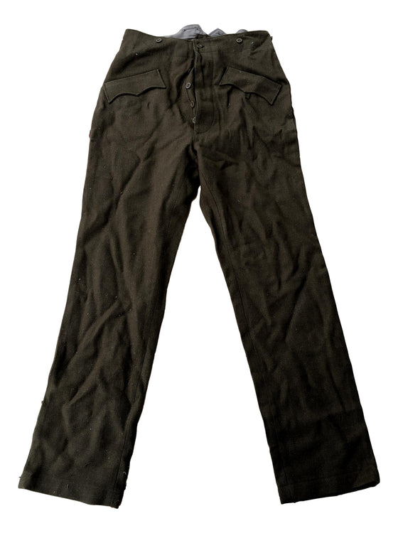 "WW2 Romanian M39 Wool Trousers- Reproduction- Size 32""x32"""