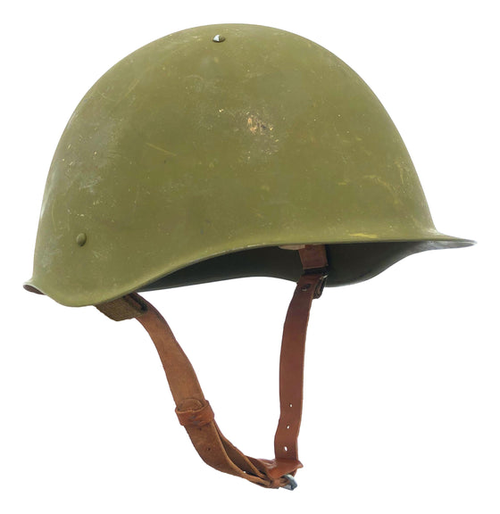 Soviet SSh-60 Steel Helmet- Used