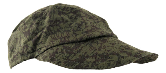 Czechoslovakian Vz.92 Camouflage Work Cap- Excellent Condition