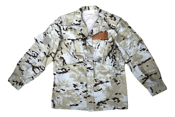 Spanish M09 Desert Camouflage Field Shirt- Used