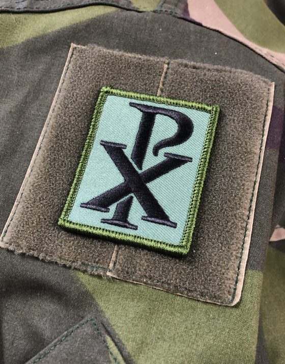 MikeB Chi Rho Morale Patch