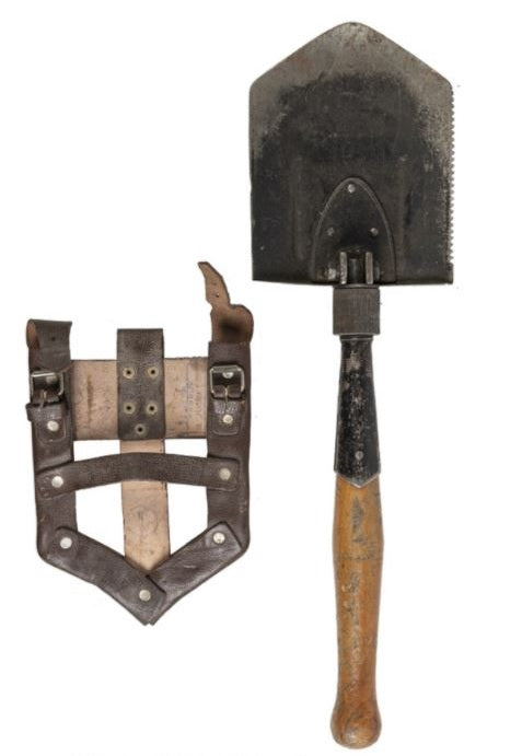 Romanian Folding E-Tool with Carrier- Used