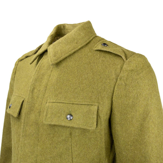 Romanian Cold War Era Khaki Wool Field Tunic- Used