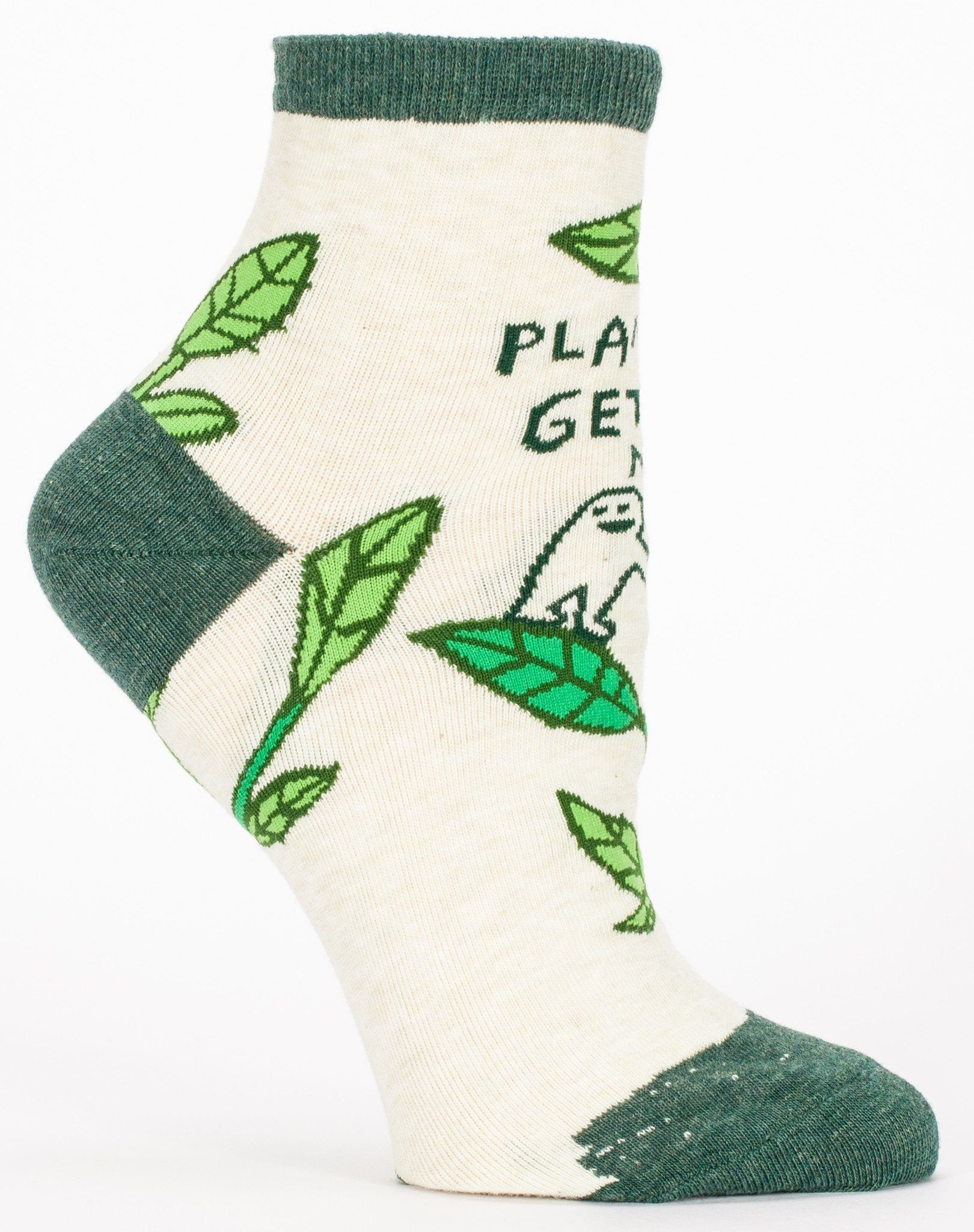 Blue Q - Plants Get Me Ankle Socks | Women's - Knock Your Socks Off