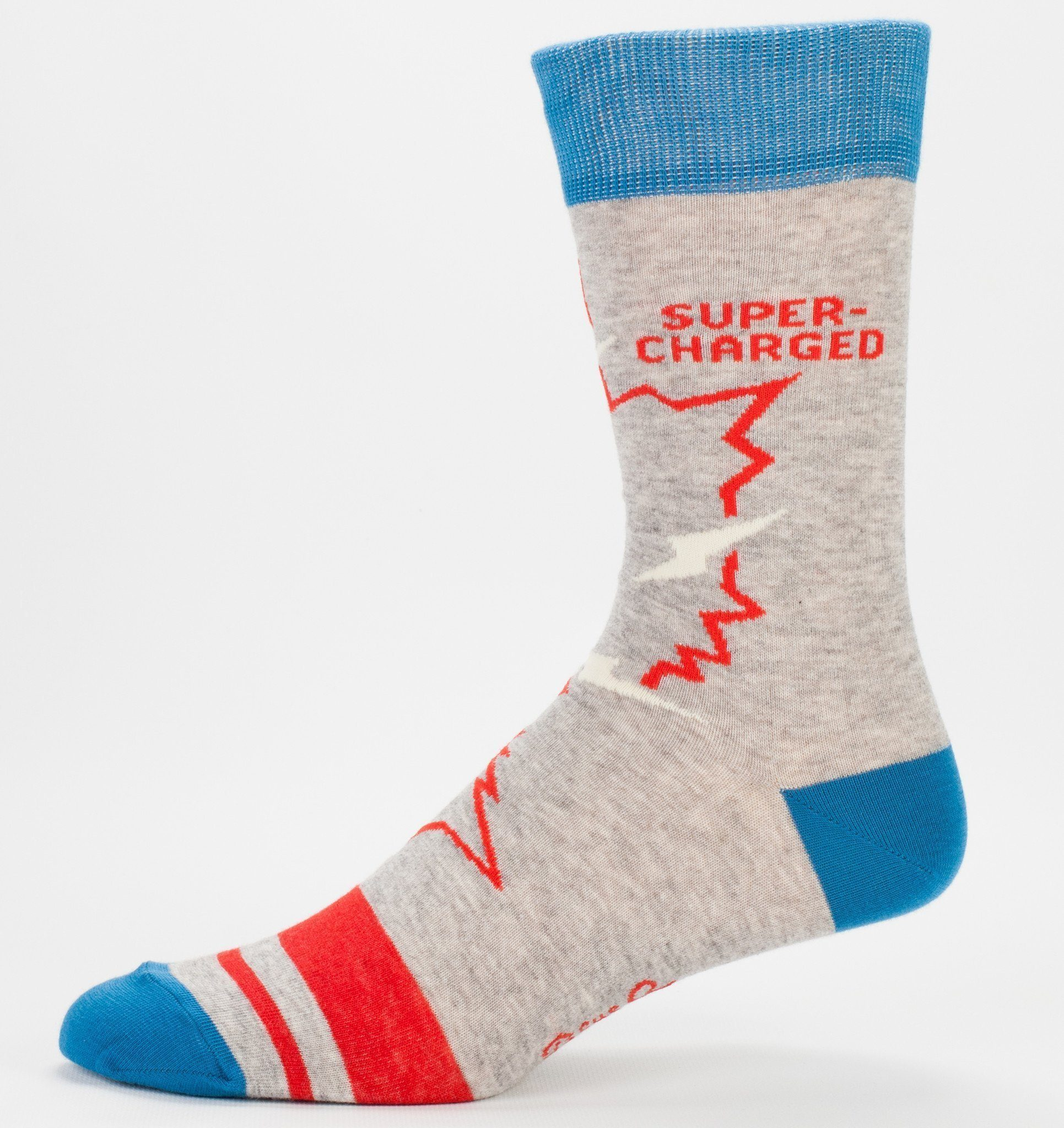Blue Q - Video Game Crew Socks | Men's - Knock Your Socks Off