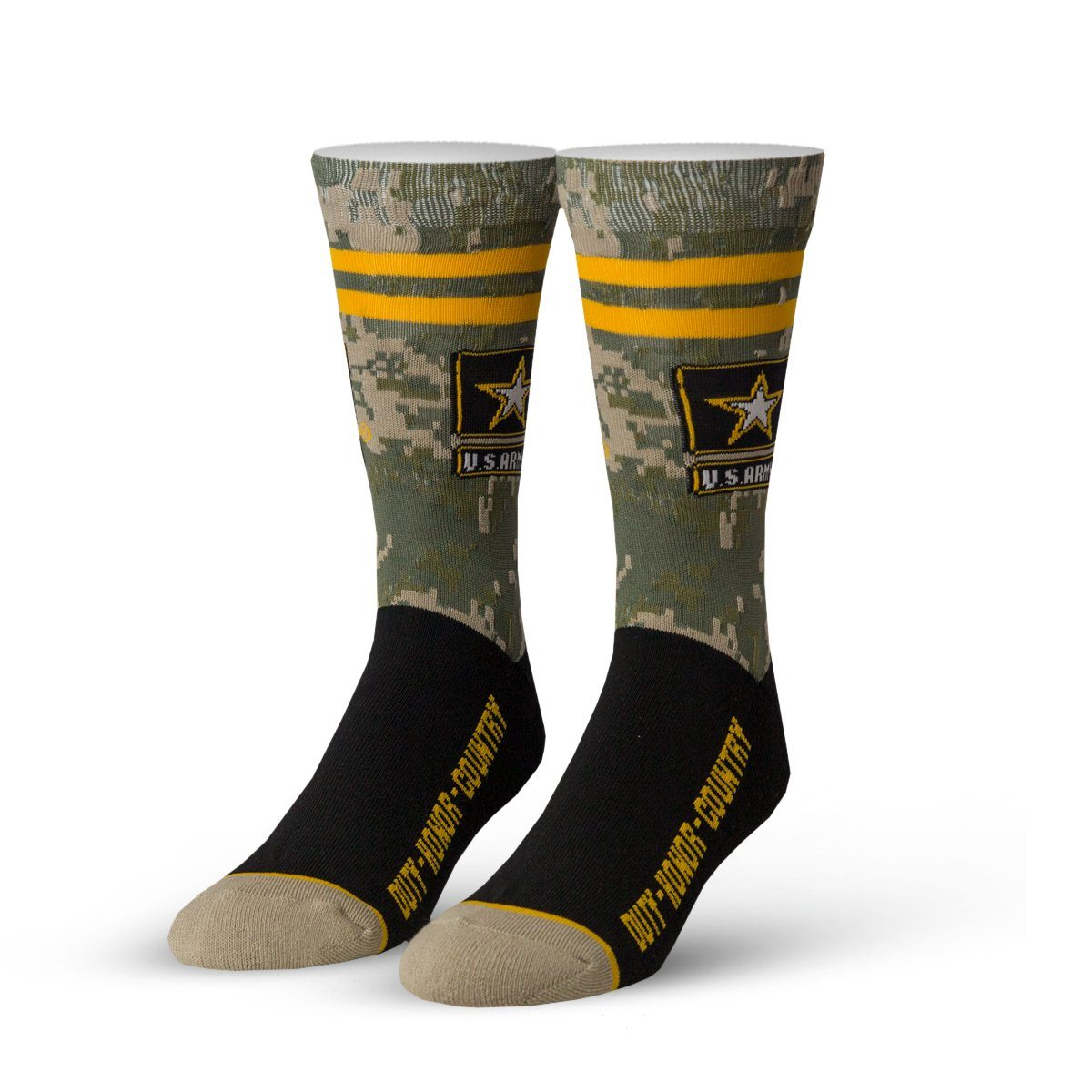 Cool Socks - Duty, Honor, Country Crew Socks | Men's - Knock Your Socks Off