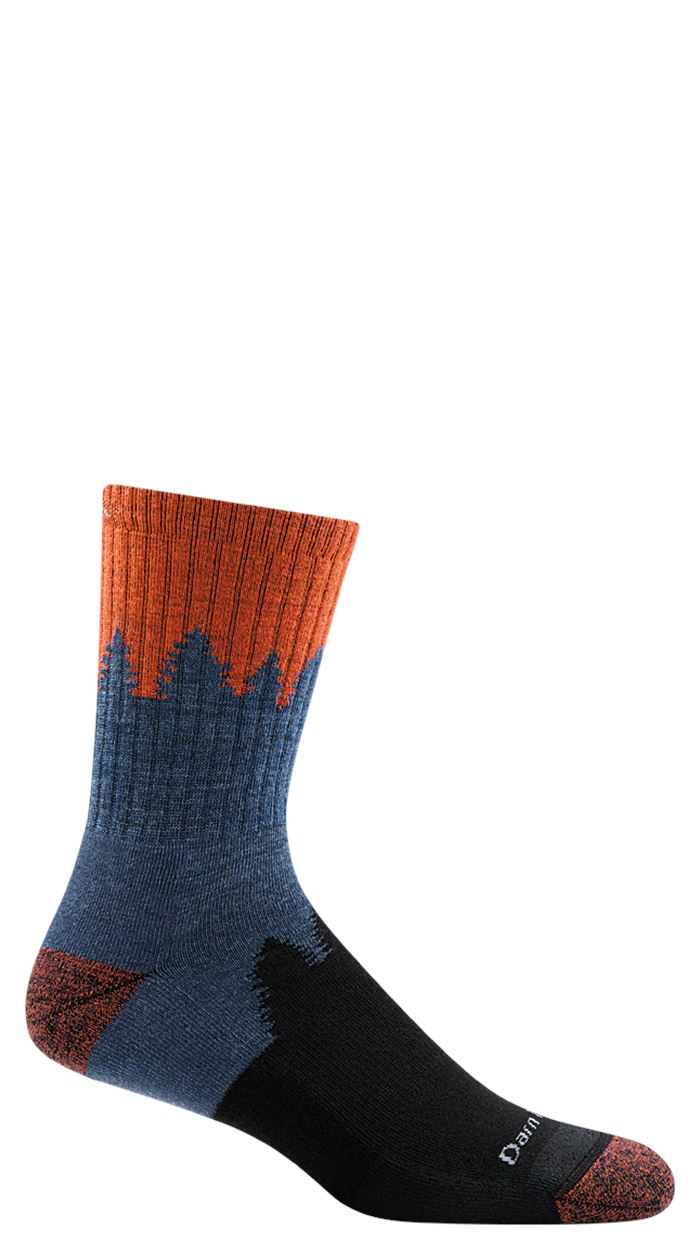 Darn Tough - Number 2 Micro Crew Midweight With Cushion | Men's - Knock Your Socks Off