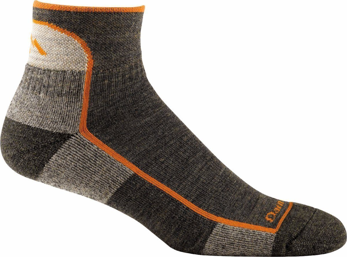 Darn Tough - Original Hiker 1/4 Sock Cushion | Men's - Knock Your Socks Off