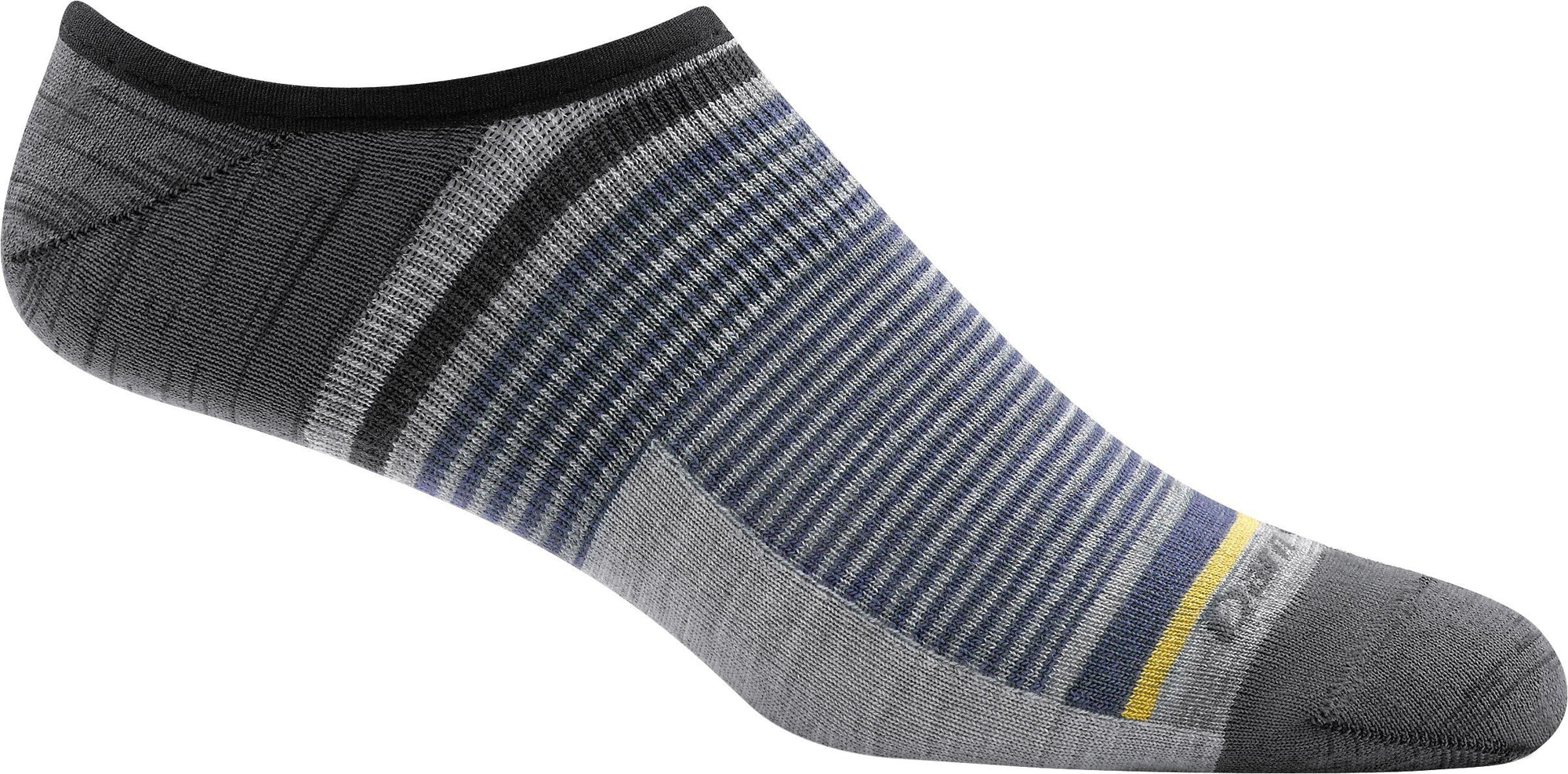 Darn Tough - Topless Stripe No Show Hidden Lightweight | Men's - Knock Your Socks Off