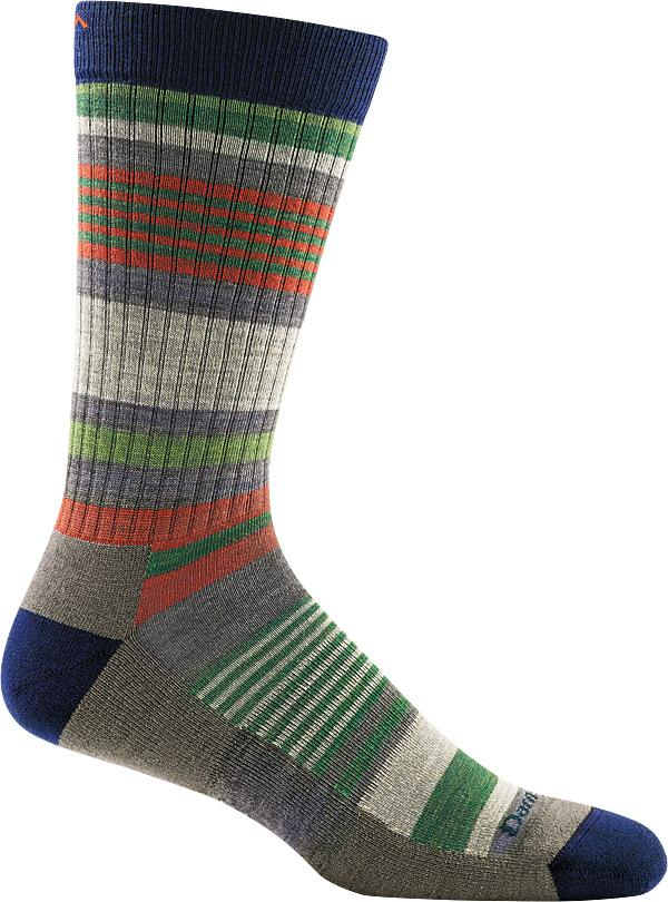 Darn Tough - Unstandard Stripe Crew Lightweight With Cushion | Men's - Knock Your Socks Off