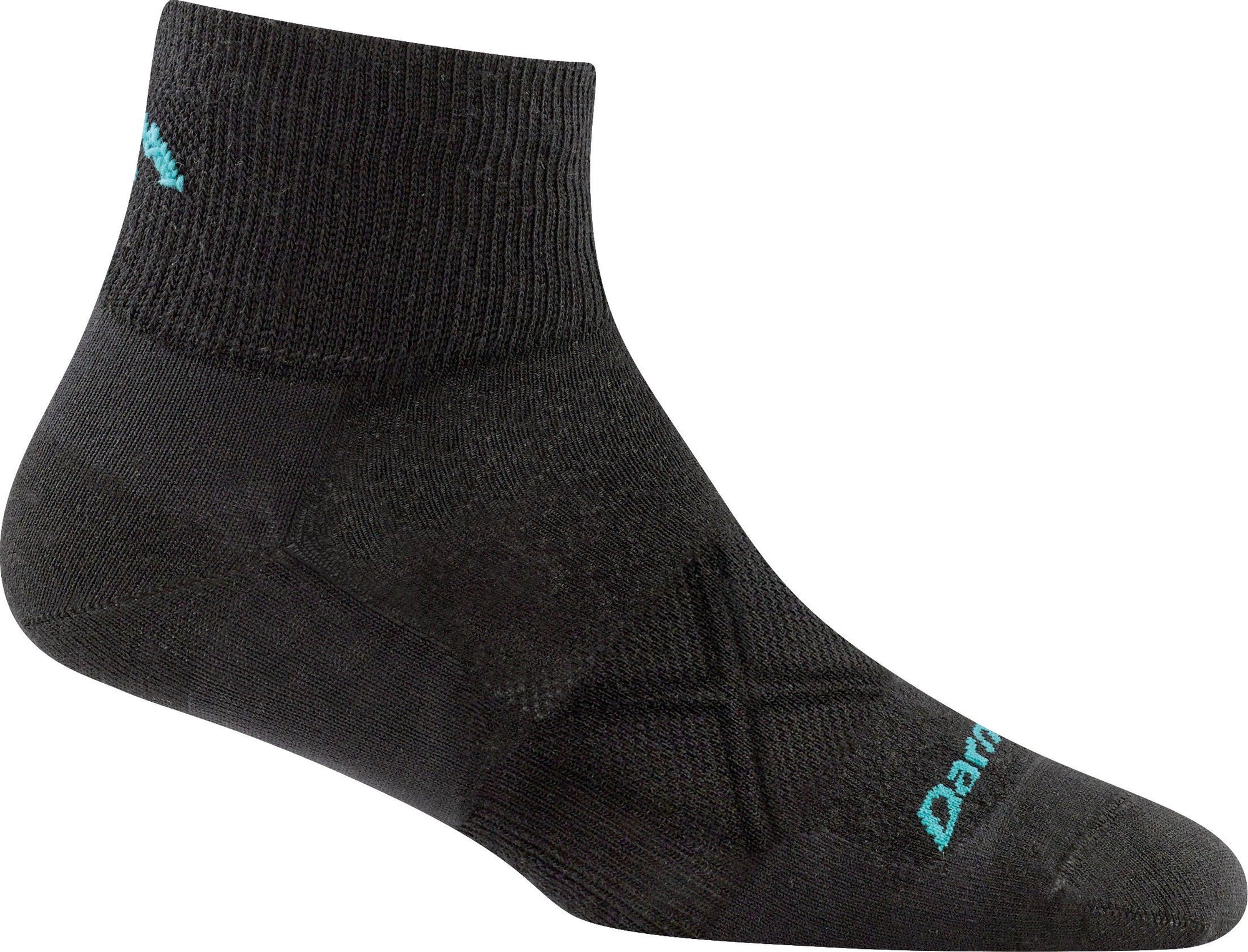Darn Tough - Vertex 1/4 Ultra-Lightweight | Women's - Knock Your Socks Off
