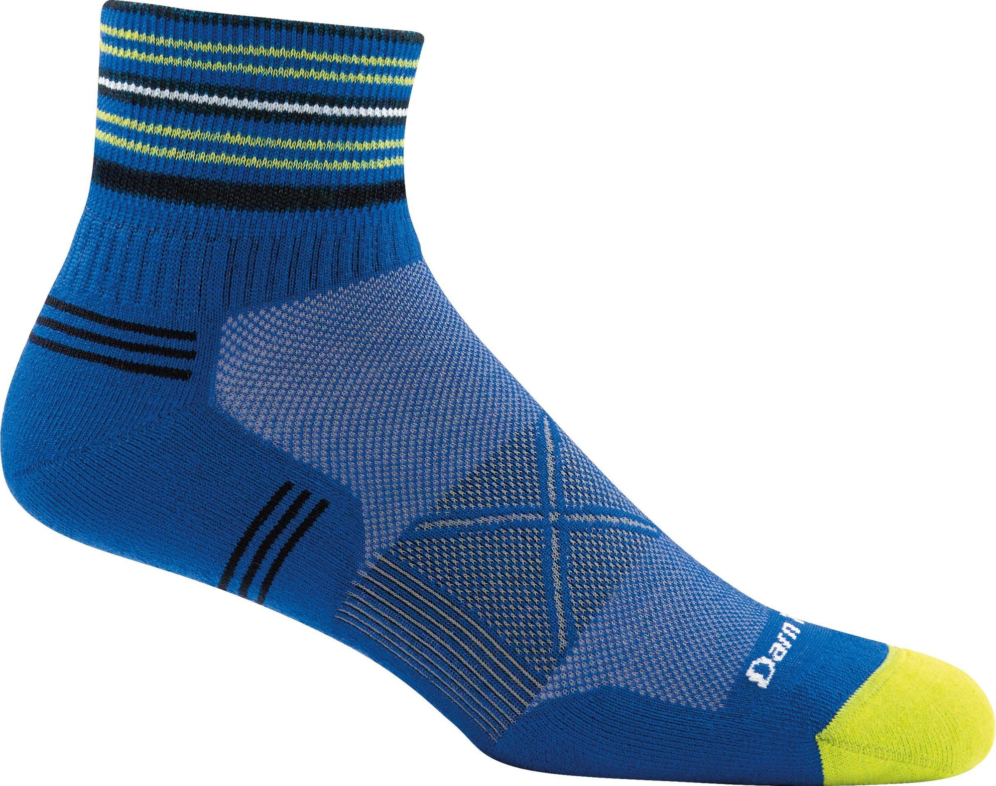 Darn Tough - Vertex Coolmax 1/4 Ultra-lightweight With Cushion | Men's - Knock Your Socks Off