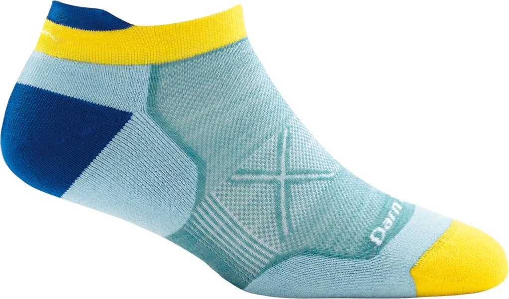 Darn Tough - Vertex No Show Tab Ultra-Light Ankle Socks | Women's - Knock Your Socks Off