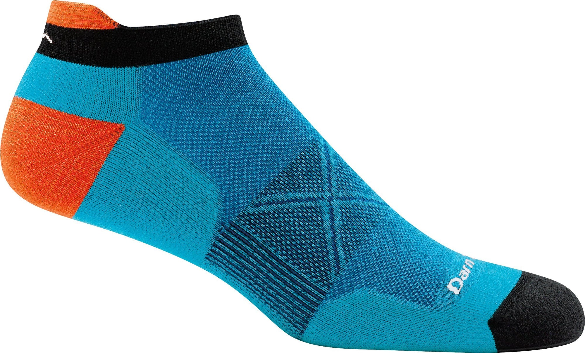 Darn Tough - Vertex No Show Tab Ultra-lightweight With Cushion | Men's - Knock Your Socks Off