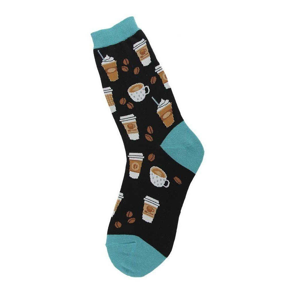 Foot Traffic - Coffee Crew Socks | Women's - Knock Your Socks Off