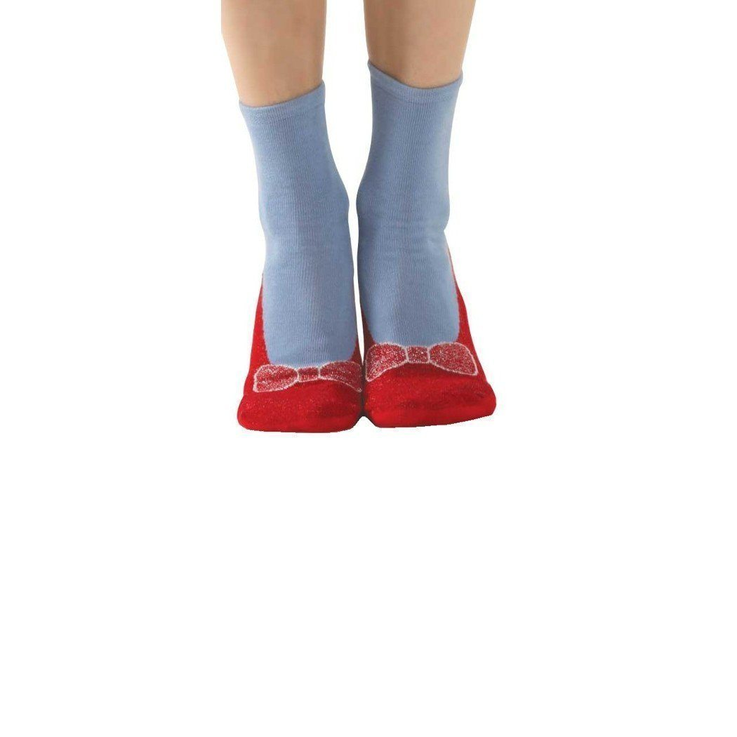 Foot Traffic - Slipper Socks: Ruby Slipper | Women's - Knock Your Socks Off